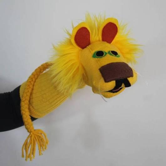 Fantoche de meia: Leão