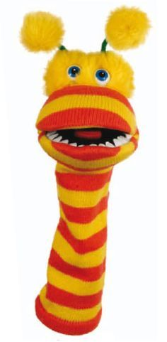 Fantoche de meia: Girafa