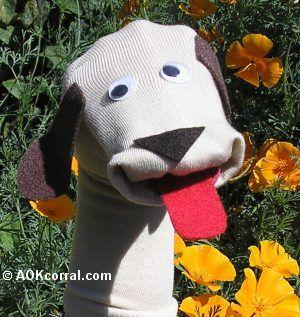 Fantoche de meia: Cachorro