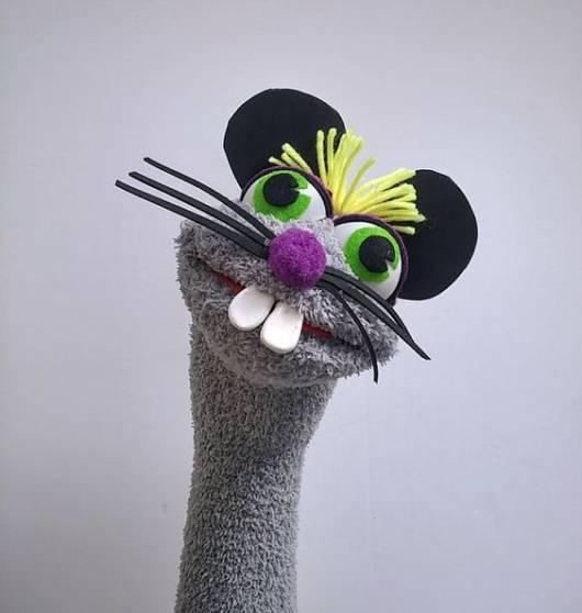 Fantoche de meia: Ratinho