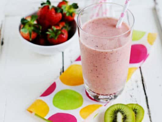 Aposte também nas vitaminas de frutas