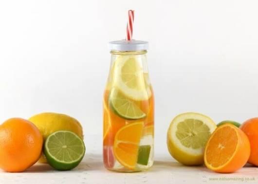 Água aromatizada também pode agradar os pequenos