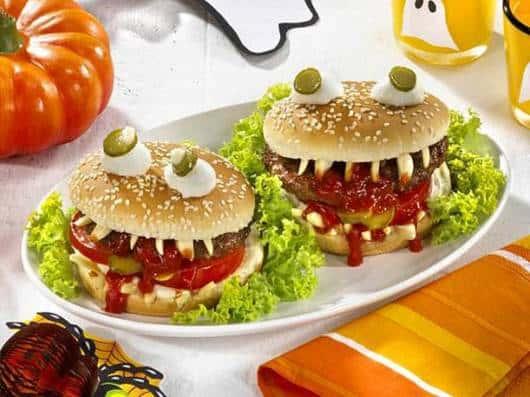 Dica de hamburguer para crianças