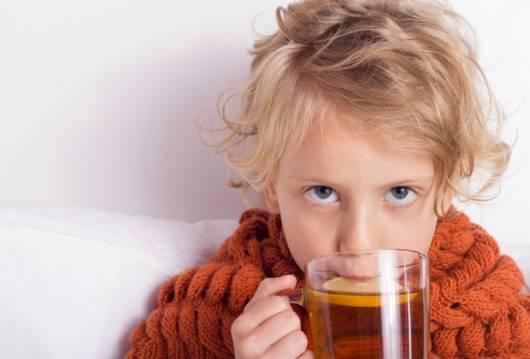 As crianças também podem tomar chás!