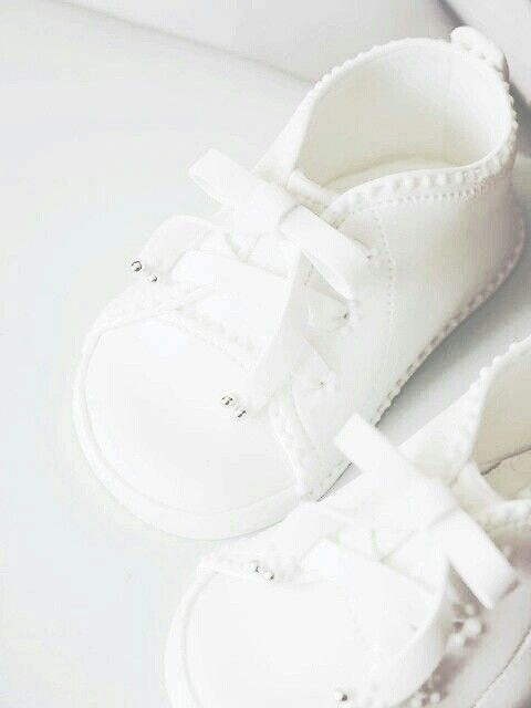 Sapatinho de bebê: Branco