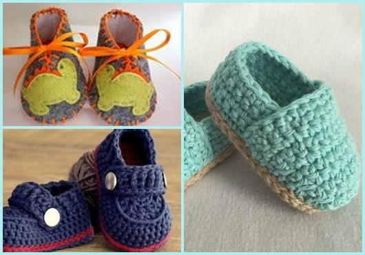 Sapatinho de bebê: Modelos para se inspirar