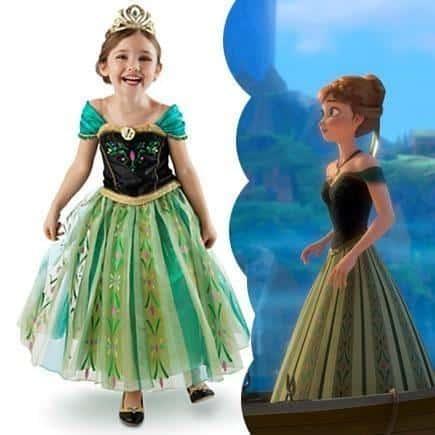 Vestido longo infantil: Anna