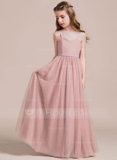 Vestido longo infantil: Para formatura rosa