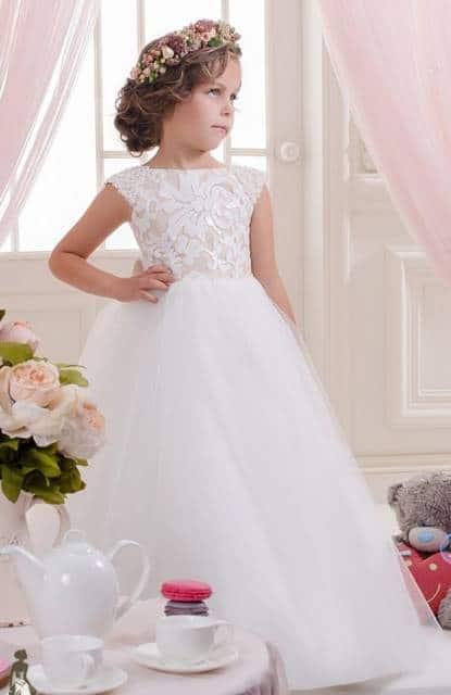 Vestido longo infantil: Dama de honra