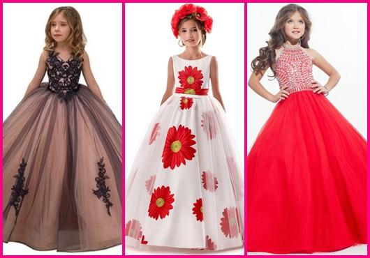 Vestido longo infantil: Modelos para se inspirar