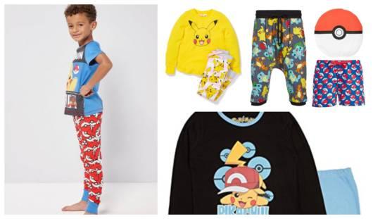 Modelos de pijamas inspirados no Pokemon