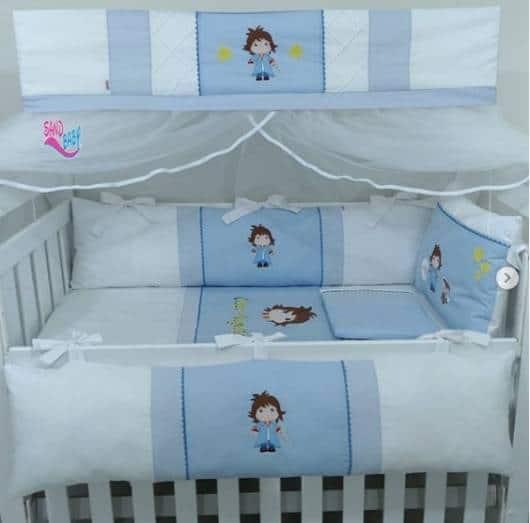decoração Pequeno Príncipe quarto de bebê