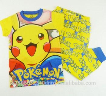 Outro modelo de pijama com estampa do Pikachu