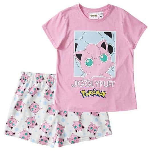 Modelo lindinho de pijama de verão do Pokemon