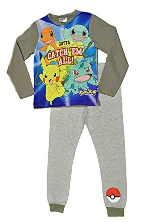 Mais um modelo de pijama, agora cinza do pokemon