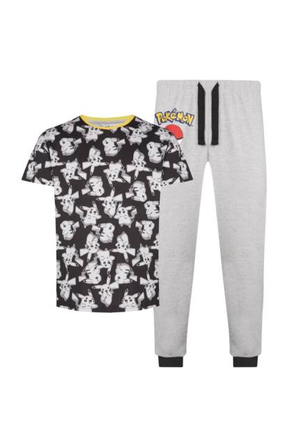 Veja que pijama bonito com estampa do Pokemon