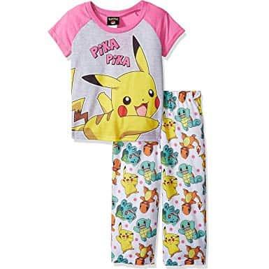 Pijama Pokemon para meninas