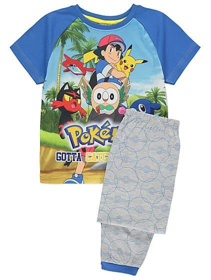 Dê um pijama de Pokemon de presente