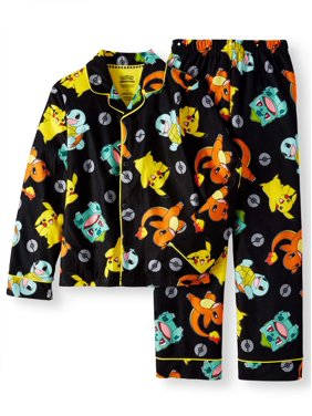 Pijama de Pokemon com os principais personagens