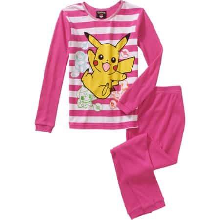 Modelo de pijama pokemon rosa