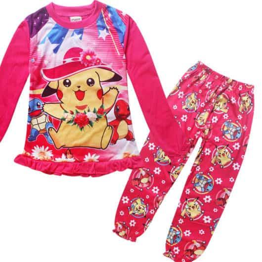 Veja a versão pink do Pijama feminino do Pikachu