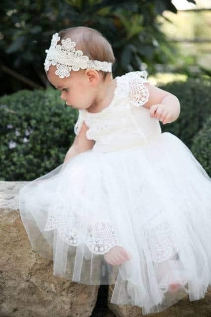 vestido de batismo