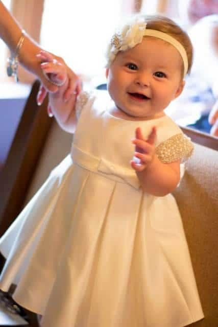 vestido bordado batizado