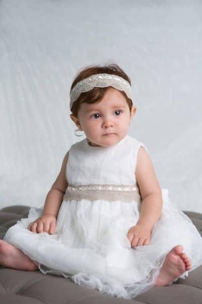 vestido rodado batizado