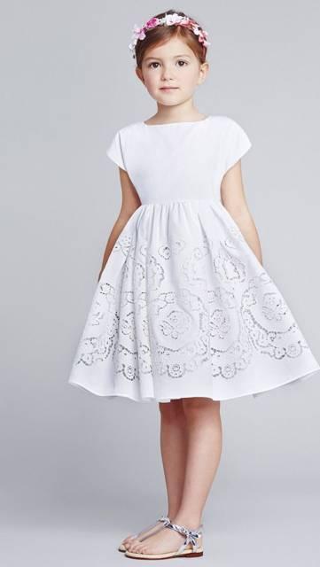 vestido de algodão