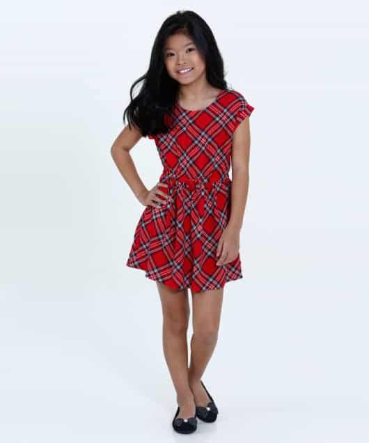 Dica de vestido xadrez infantil simples para curtir o verão