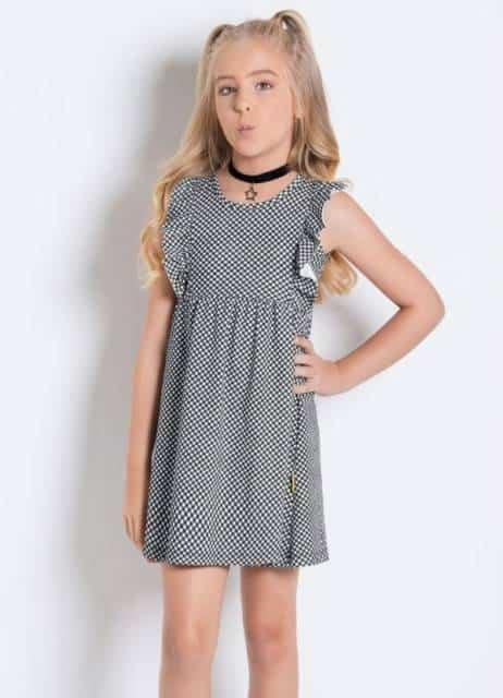 vestido xadrez para usar no verão