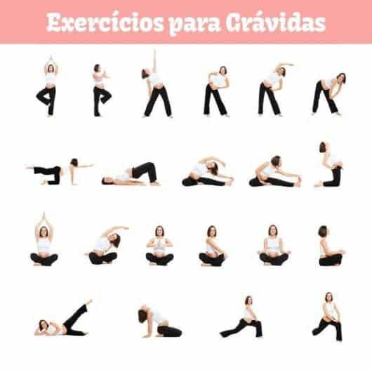 Ideias de exercícios de yoga para mulheres grávidas
