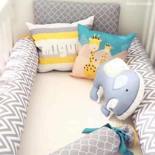 almofadas decorativas para berço