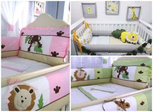 O tema Safari pode ser usado em quarto de meninos e meninas