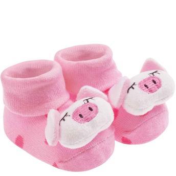 Meia rosa de porquinho