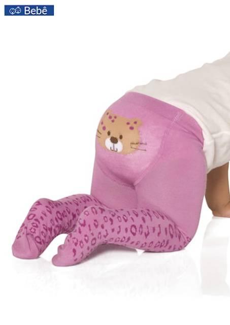 meias-calça com bichinho na parte do bumbum