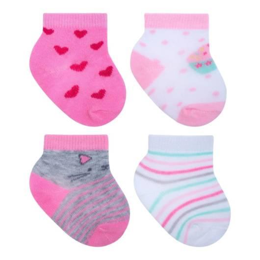 As meias estampadas já podem ser usadas pelos recém-nascidos