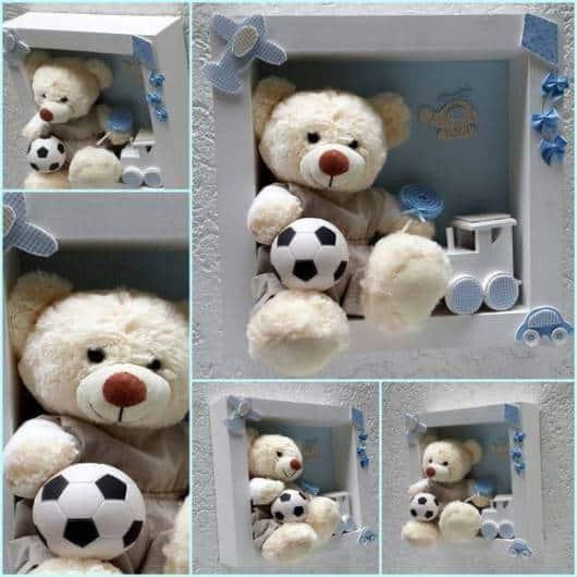 Exemplo de nicho com ursinho para menino