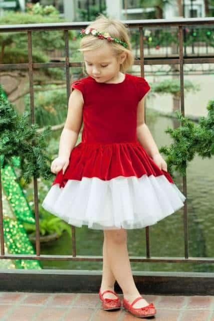 vestido de veludo rodado