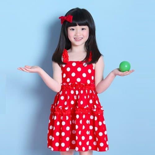 vestido simples estampado
