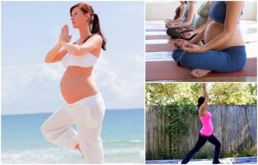 A yoga oferece inúmeros benefícios para as gestantes