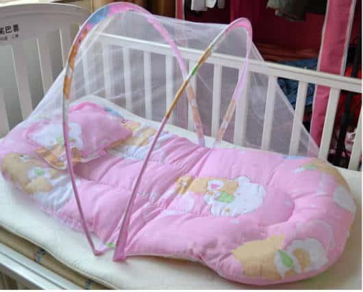 Almofada para bebê dormir