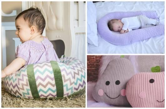 Conheça com a gente os principais tipos de almofadas para bebê