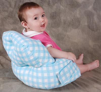 Almofada para bebê sentar