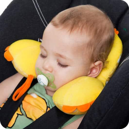Almofada para pescoço do bebê