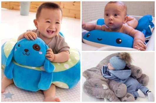 Almofadas para bebês