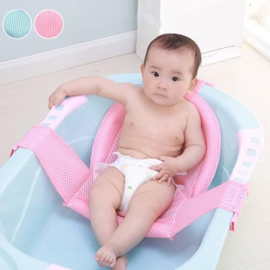 Almofada para bebê tomar banho