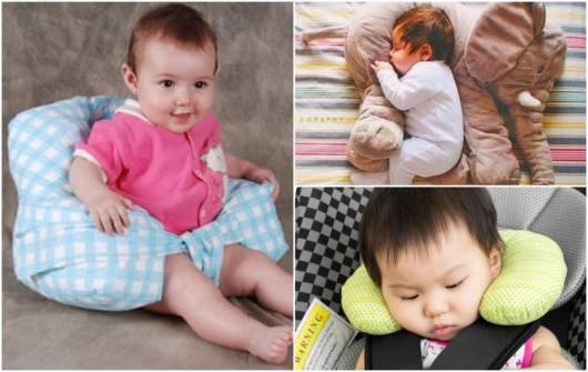 modelos de almofada para bebê