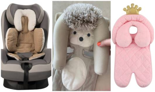 Almofadas para bebê conforto