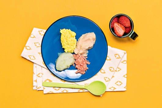 No sexto mês de vida do bebê você pode introduzir alimentos